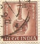 Sellos de Asia - India -  BIDRIWIDE