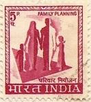Sellos del Mundo : Asia : India : FAMILY PLANNING