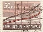 Sellos del Mundo : Asia : Indonesia : PELITA
