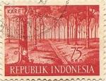 Sellos del Mundo : Asia : Indonesia : KARET