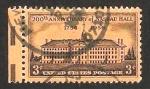 Sellos de America - Estados Unidos -  II Centº de Nassau Hall