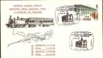 Sellos del Mundo : Europa : España : Sobre del Centº del ferrocarril Bilbao - Portugalete