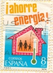 Sellos de Europa - España -  Ahorro de Energía
