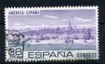 Sellos de Europa - España -  Puerto de las Indias S. XVI- Sevilla