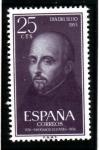 Sellos de Europa - España -  1955 IV Cent. muerte S Ignacio de Loyola. Edifil 1166