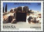 Sellos de Europa - España -  ESPAÑA 1995 3396 Sello ** Arqueología Cueva de Menga Antequera Malaga