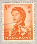 Sellos de Asia - Hong Kong -  Queen Elizabeth II