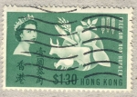 Sellos del Mundo : Asia : Hong_Kong : Freedom from hunger