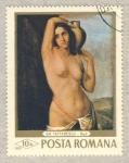 Sellos del Mundo : Europa : Rumania : Gh. Tattarescu  -  Desnudo