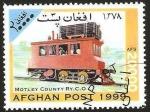 Sellos del Mundo : Asia : Afganistán : locomotora