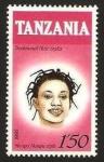 Sellos del Mundo : Africa : Tanzania : peinados