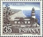Sellos del Mundo : Europa : España :  ESPAÑA 1986 2838 Sello Nuevo Paisajes y Monumentos Faro de Calella (Barcelona)