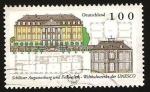 Sellos de Europa - Alemania -  castillos de augustusburg y falkenluss
