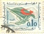 Sellos del Mundo : Africa : Argelia : Bandera