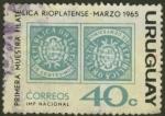 Sellos de America - Uruguay -  Primera muestra filatélica del Río de la Plata