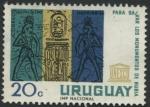 Sellos de America - Uruguay -  Para salvar los monumentos de Nubia