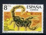 Sellos de Europa - España -  Escorpion