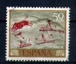 Sellos de Europa - España -  Cueva Remigia- Castellon