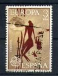 Sellos del Mundo : Europa : España : Cueva de la Araña