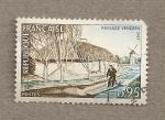 Sellos de Europa - Francia -  Paisaje de la Vendée