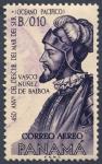 Sellos del Mundo : America : Panamá : 450 anv del descubrimiento del Mar del Sur Vasco Nuñez de Balboa