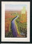 Sellos del Mundo : Oceania : Australia :  Patrimonio de la Humanidad Parque N.Kakadu