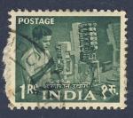 Sellos de Asia - India -  oficio