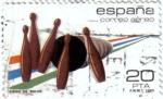 Sellos del Mundo : Europa : España : Deportes. Bolos