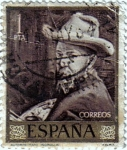 Sellos del Mundo : Europa : España : Autorretrato de Joaquín Sorolla
