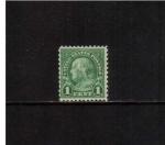 Sellos de America - Estados Unidos -  Franklin, Scott #552