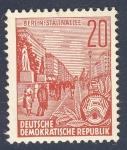 Sellos del Mundo : Europa : Alemania : DDR Berlin Stalinallee