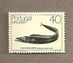 Sellos de Europa - Portugal -  Pez Aphanopus carbo