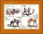 Sellos del Mundo : Europa : España : ESPAÑA 2008 4426 Sellos ** Juegos y Deportes Tradicionales Palo Canario, Lucha Leonesa y Canaria