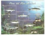 Sellos del Mundo : America : Perú : Peces Del Mar de Peru, Scott # 1413
