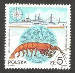 Sellos de Europa - Polonia -  krill antártico