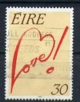 Sellos del Mundo : Europa : Irlanda : Mensajes de amor